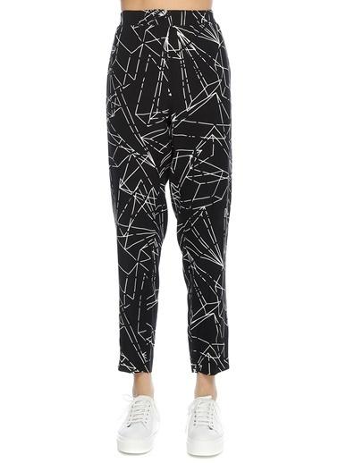 Beymen Studio Desenli Pantolon Lacivert
